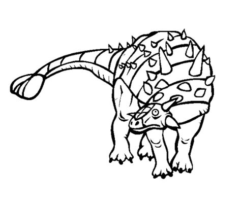 Dibujos Para Colorear Dinosaurios Carnivoros