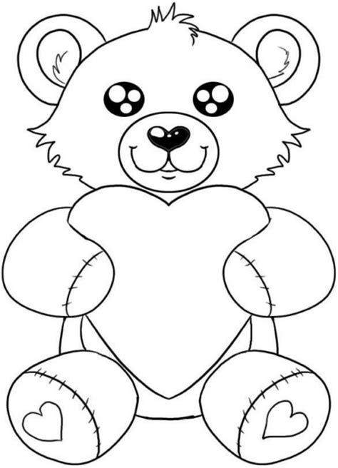 Dibujos para colorear en San Valentín ~ Dibujos para Niños