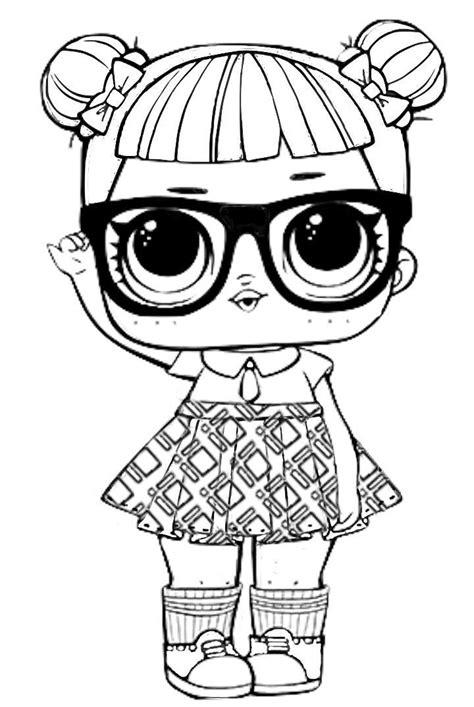 Dibujos para Colorear: Muñecas LOL | Dibujos para colorear ...