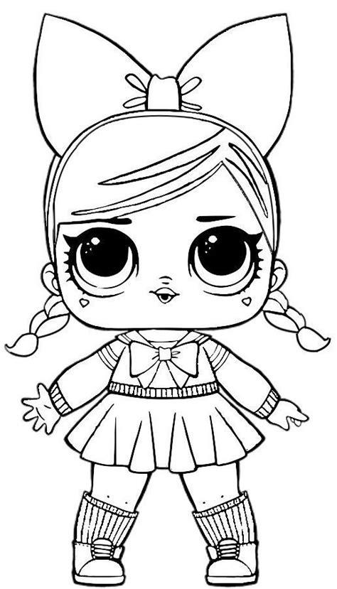 Dibujos para Colorear: Muñecas LOL | Imprimir dibujos para ...