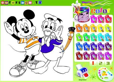 Dibujos Para Colorear Online Disney   Dibujos Para Pintar