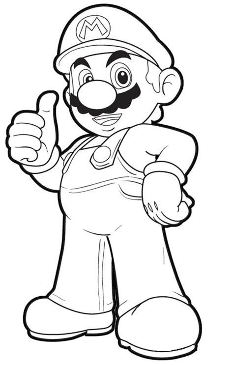 Dibujos para Colorear, Pintar , imprimir.....: Mario Bros ...