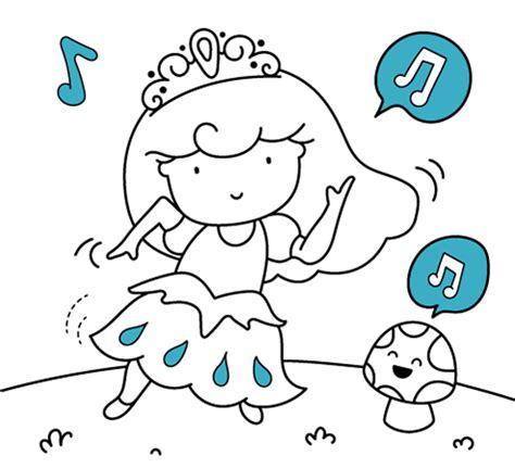 Dibujos para colorear princesas. Pintar online o imprimir