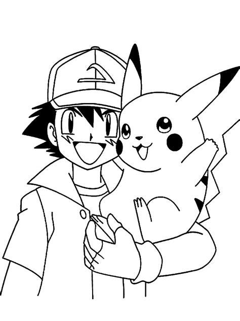 Dibujos para colorear – Pokemon, para niñas y niños