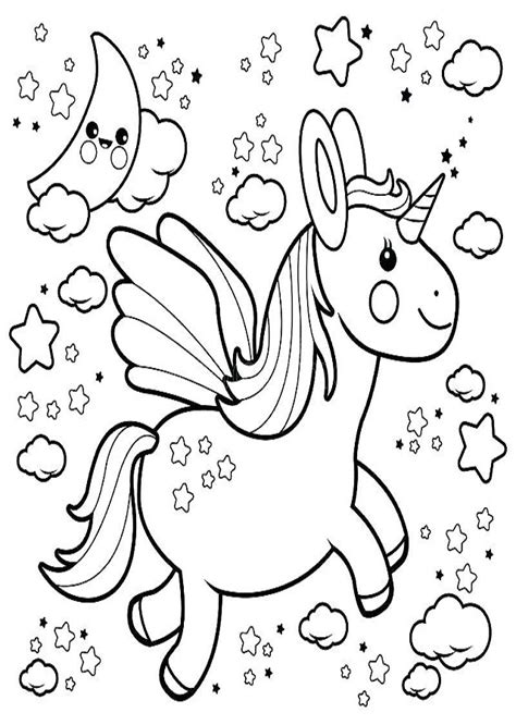Dibujos para colorear Unicornio   Dibujosparacolorear.eu