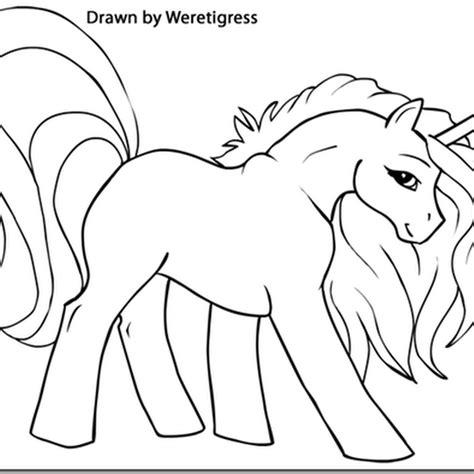 Dibujos Para Colorear Unicornios Infantiles   Dibujos Para ...