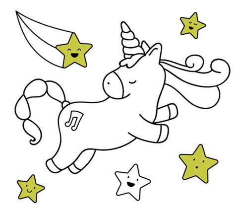 Dibujos para colorear unicornios. Pintar online o imprimir