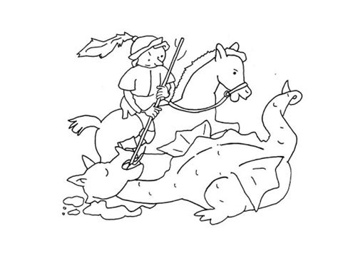 Dibujos para imprimir sant jordi   Imagui