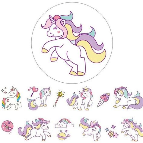 Dibujos Para Imprimir Unicornios Infantiles   SEONegativo.com