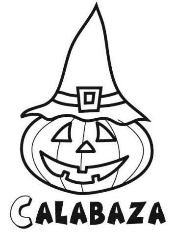 Dibujos para imprimir y colorear   Halloween   Pinterest