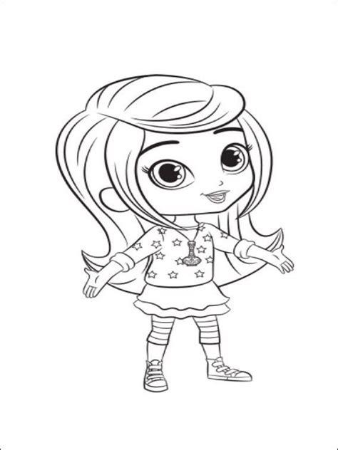 Dibujos para imprimir y pintar para niños Shimmer y Shine ...