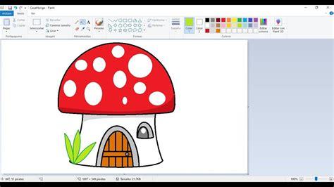 Dibujos para niños con Paint: Cómo dibujar una Casita ...