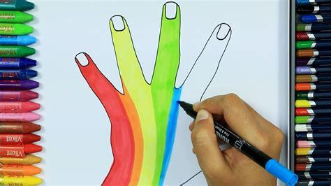 Dibujos para pintar y colorear   Cómo dibujar a mano ...