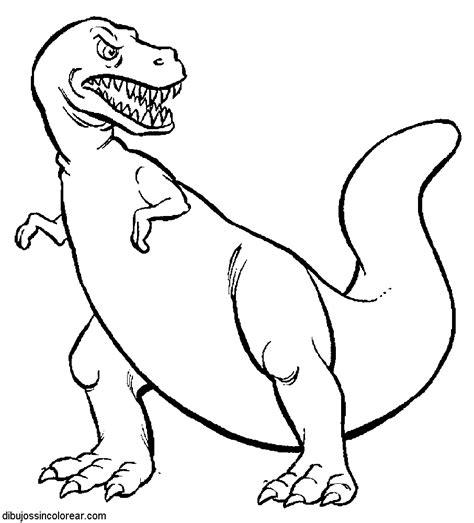 Dibujos Sin Colorear: Dibujos de Dinosaurios para Colorear
