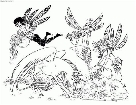 Dibujos Sin Colorear: Dibujos de personajes de Mia and Me ...
