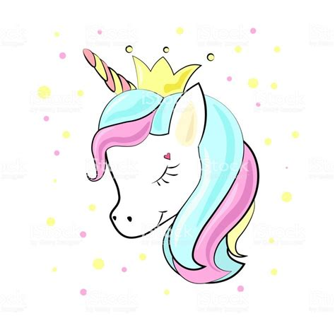Dibujos unicornios Kawaii para colorear e imprimir   Fotos ...