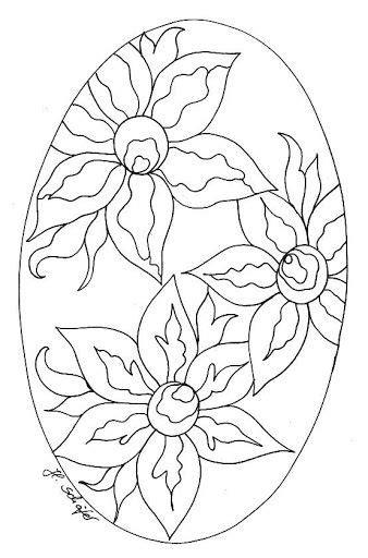 Dibujos y Plantillas para imprimir: Mandalas florales ...