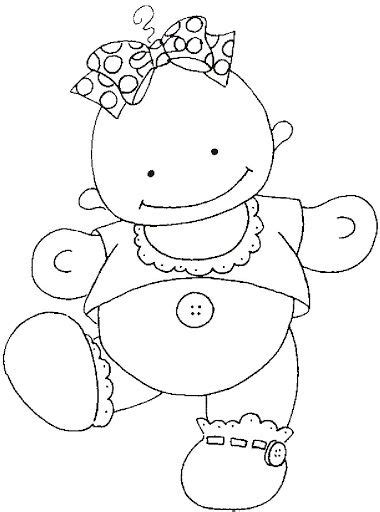 Dibujos y Plantillas para imprimir | Moldes de bebe ...