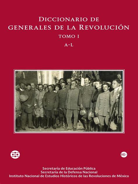 Diccionario de Generales de La Revolución 1   Revolución ...