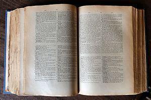 Dictionnaire — Wikipédia