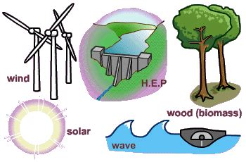 Did You Know?: Types of Renewable Resources and their Purpose