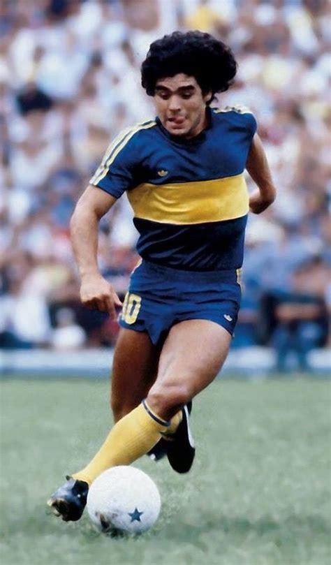 Diego Armando Maradona, Boca Juniors.   Boca juniors ...