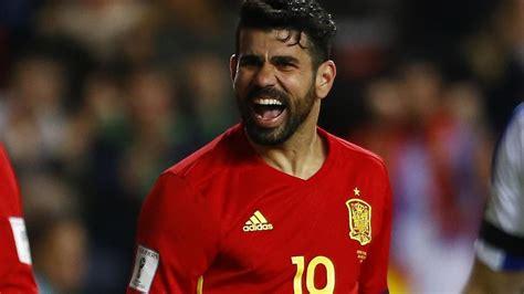Diego Costa deja a la Selección española por motivos ...