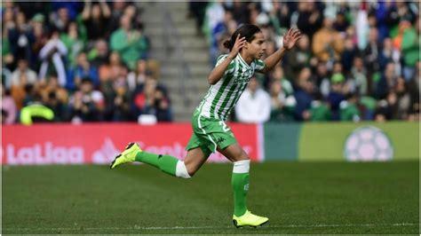 Diego Lainez conquista a la afición del Betis   MARCA ...