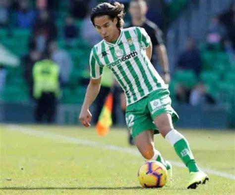 Diego Lainez, contento por la victoria de Real Betis en su ...