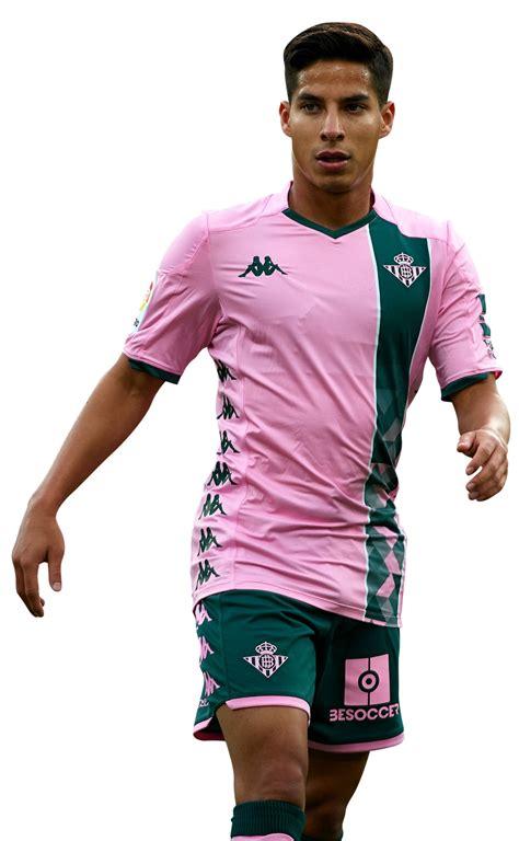 Diego Lainez football render   65411   FootyRenders