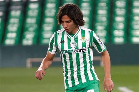 Diego Lainez ya debutó con el Betis en España y lo hizo ...
