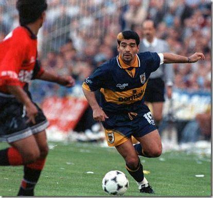 Diego Maradona, Boca Juniors 1995   Futbol   Pinterest ...