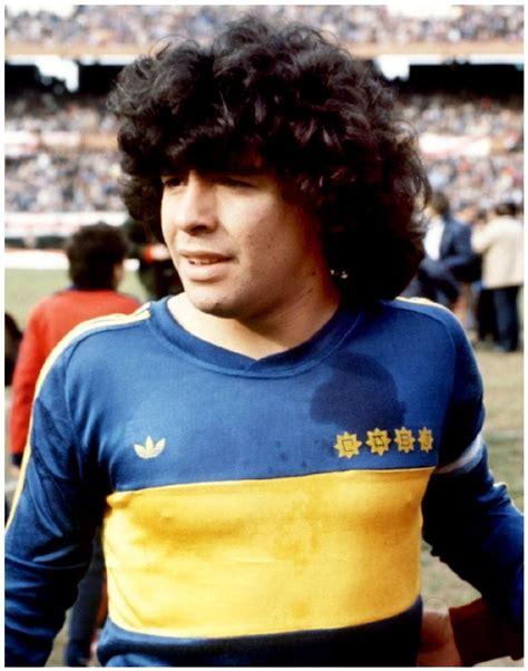 Diego Maradona, Boca Juniors circa 1981.  con imágenes ...