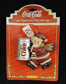 Diet Coke Santa Ornament in 2020   Diet coke, Coke, Coke santa