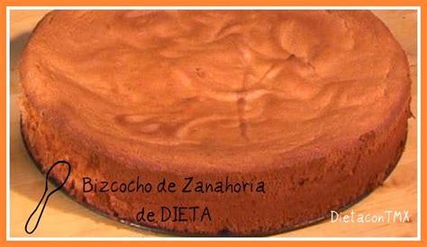 DIETA con THERMOMIX: BIZCOCHO DE ZANAHORIA DE DIETA