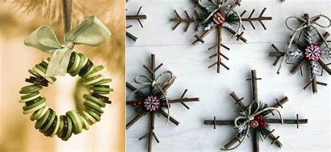 Diez adornos navideños caseros que te sorprenderán   La ...