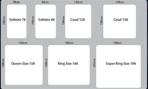 Diferença entre o tamanho dos colchões   Costa Rica Colchões