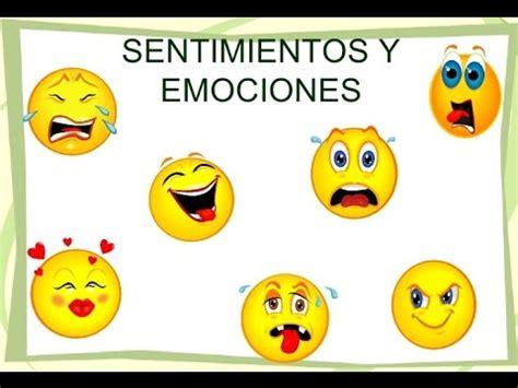 Diferencia entre sentimientos y emociones.   YouTube