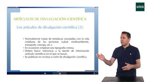Diferencias entre artículos científicos y artículos de ...