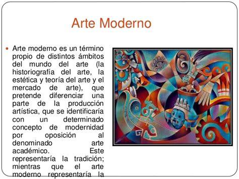 Diferencias entre lo moderno y contemporáneo del arte