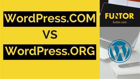 Diferencias entre WordPress.Com Vs WordPress.Org 2016 en ...