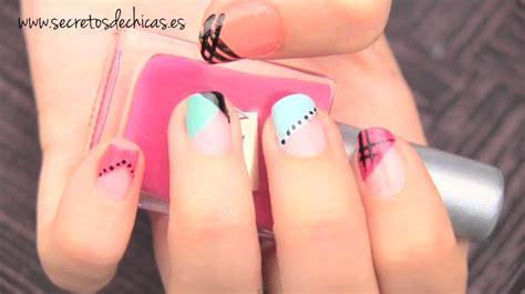 Diferentes pintados de uñas fáciles   YouTube