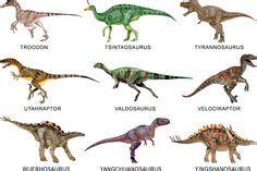 diferentes tipos de dinosaurios y sus nombres | Fiesta ...