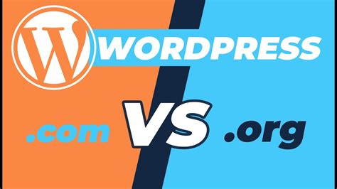 Différences entre Wordpress.ORG et Wordpress.COM   YouTube