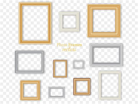 Different color photographic frame vector free download ...