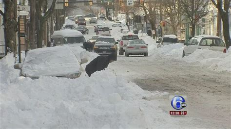 Digging out from more than a foot of snow in Allentown, Pa ...
