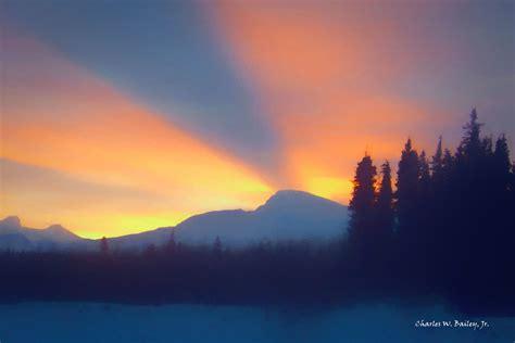 Digital Pastel Drawing of Mount Saint Elias – Charles W ...