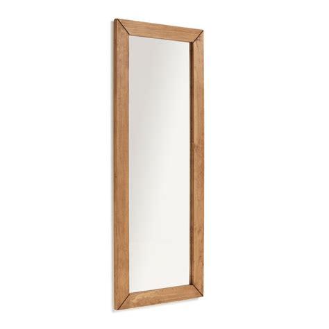 DILBAR  Espejo de pared madera maciza cuerpo entero para ...