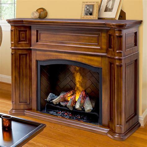 Dimplex Thompson Burnished Walnut Electric Fireplace ...