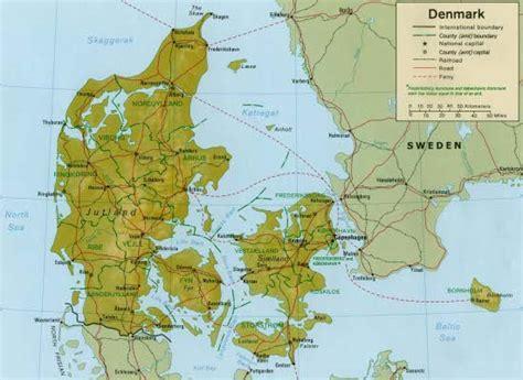 Dinamarca: Hidrografía, clima y vegetación | La guía de ...